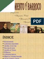 Presentación  renacimiento y barroco