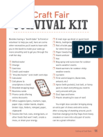 Craft Fair Survival Kit from Handmade to Sell by Kelly Rand