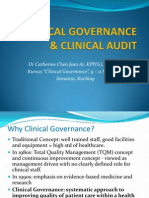 Clinical Governance & Clinical Audit