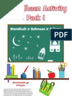 Ramadhaan Activity Pack 1