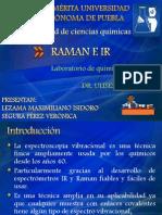 Presentacion Raman e IR