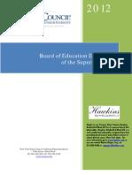 Evaluation of Kingston School District Superintendent