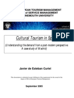 Cultural turism in Spain -a case study of Madrid