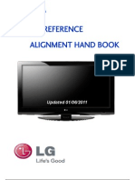 LG Plasma Quick Reference Alignment Handbook