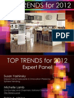 Top Trends 2012 - Presented by Tom_Mirable - Lifetime Brands at 2012 IHA