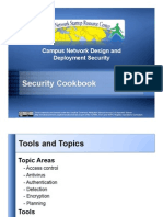 10 Security Cookbook