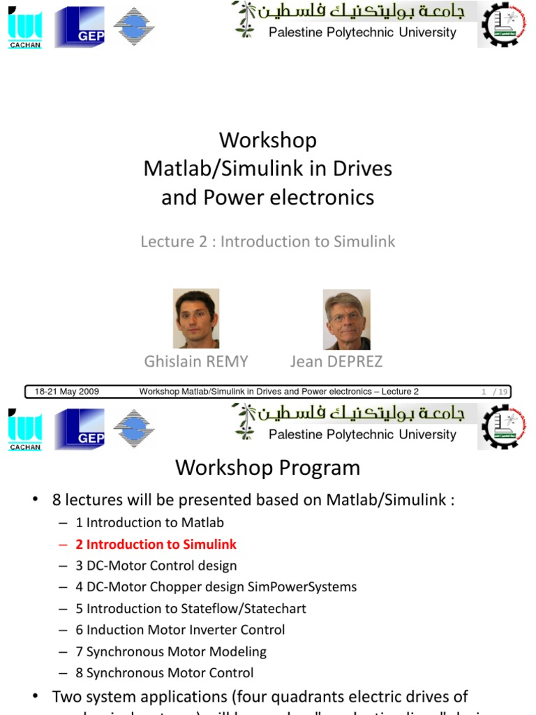 Lecture 2 Introduction to Simulink | Matlab | Power Electronics
