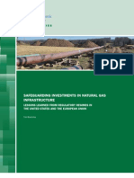 Safeguarding Investments in Natural Gas Infrastructure