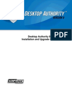 Desktop Authority 8 InstallandUpgrade Guide