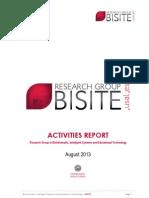 Activities Report Bisite
