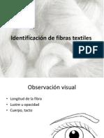 Identificación de fibras textiles