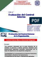 Evaluación del Control Interno 2