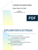 Elements de Geoelectrique Master Gc 2009