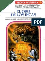 EA36 - El Oro de Los Incas