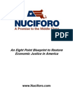 Andrea Nuciforo Eight-Point Policy Plan