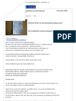 Offener Brief an die Bundesärztekammer! - News4Press.com - 02. April 2012