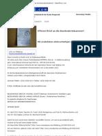 Offener Brief an die Bundesärztekammer! - News4Press.com - 02. April 2012