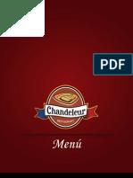Menu Chandeleur Restaurant @chandeleurmx