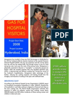 Liquified Petroleum Gas for Hospital Visitors