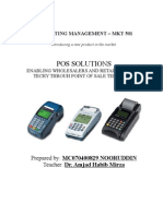 Marketing Management - POS Solutions Project