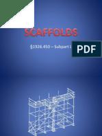 Scaffolds Presentation