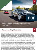 Tesla Presentation - Spring 2012 (1)