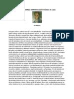 HISTORIA DE JOSÉ BERNARDO MAXIMILIANO GUTIÉRREZ DE LARA