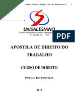 Apostila de Direito do Trabalho 2012.pdf