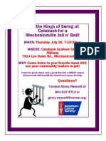 Jail n Bail Flyer