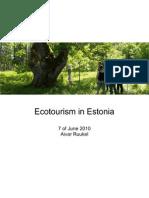 Ecoturism in Estonia