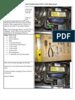 DIY Saab 95 Neutral Position Switch