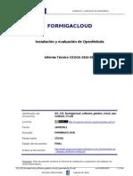 DO SIS Formigacloud Software Gestion Cloud Opennebula V3