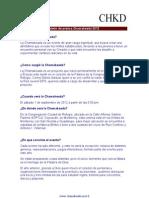 Boletín Chamakeada 2012