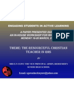 Engaging Students in Active Learning