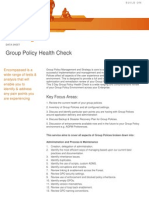 Group Policy Health Check (GPOHC)