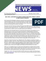 CMT CAPT Press Release 071912