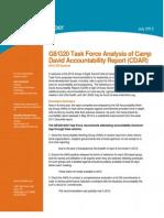 G8 Accountability Report Critique