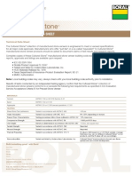 Cultured Stone Technical Data Sheet