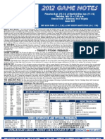 Bluefield Blue Jays Game Notes 7-19