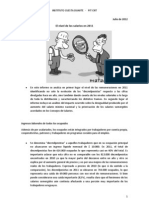 Informe salarios 2011