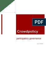 crowdpolicy presentation Σεμινάριο Σύρος - 14.07
