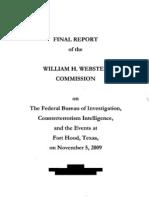 Webster Report Fort Hood Massacre