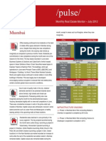 Jones Lang LaSalle India's Mumbai Real Estate Monitor July 2012
