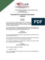 Reglamento Del Concurso Para Mesas Clinicas i Jornada Cientifica Uap