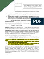 chapitre 2 limites de la régulation par le marché fiche 3 lacunes