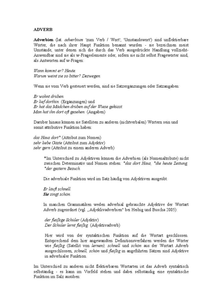 Beste Fortsetzen Der Verb Action Wörter Galerie - Beispiel ...