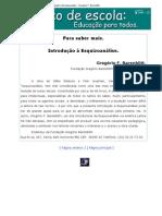 Introdução à Esquizoanálise - Gregório F. Barenblitt