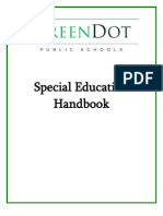 Green Dot SPED Binder
