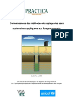 Practica Methodes Captage Eaux Par Forages