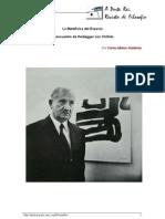 Heidegger Chillida